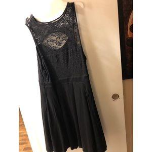 Black torrid cocktail dress